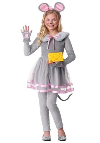 Disfraz para niña de ratón tierno