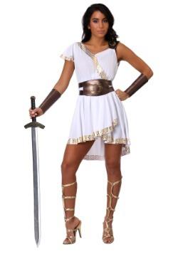 Disfraz de guerrera olímpica de mujer
