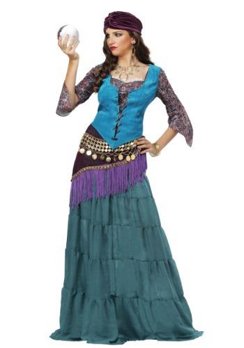 Disfraz de fabuloso adivino para mujer adulta