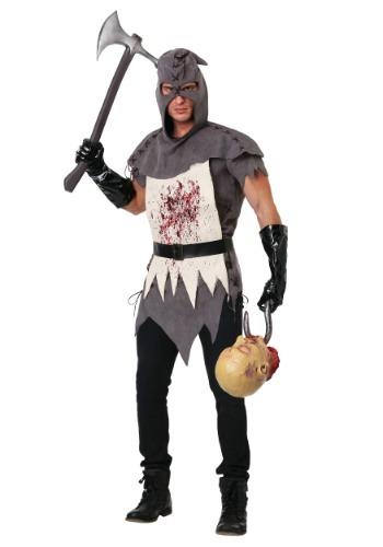 Disfraz de verdugo malvado para hombre talla extra