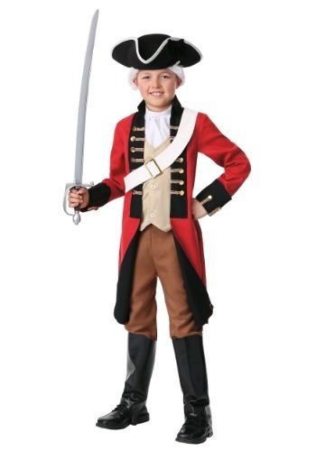 Disfraz de abrigo rojo británico infantil