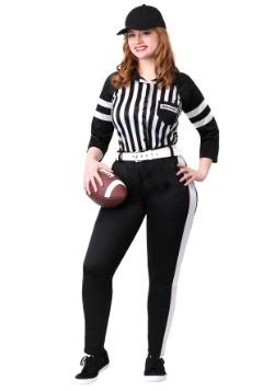 Disfraz para mujer talla extra para árbitro