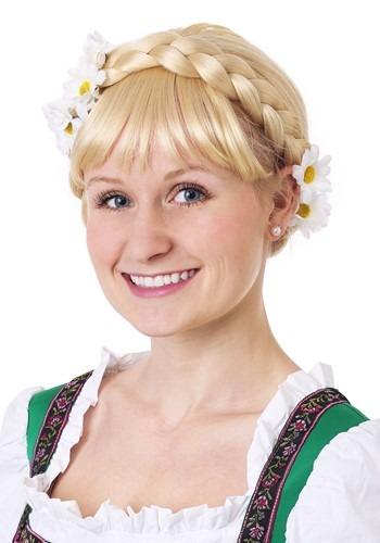 Peluca de chica alemana de la cerveza