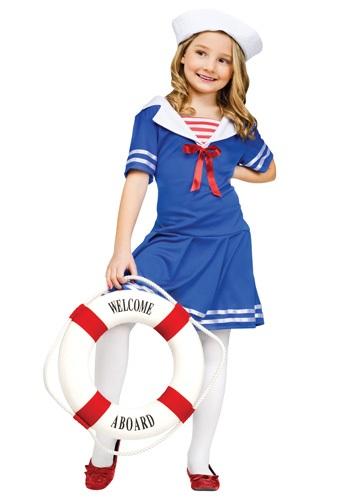 Disfraz de marinera tierna para niñas
