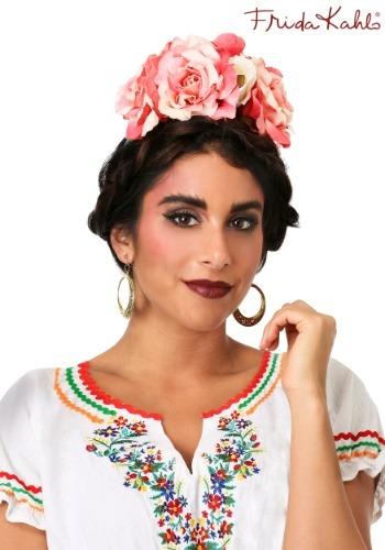 Cinta para la cabeza con flores de Frida Kahlo-update3