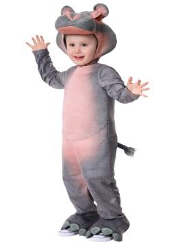 Disfraz realista para niños pequeños de hipopótamo
