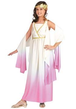 Disfraz infantil de la diosa Athena