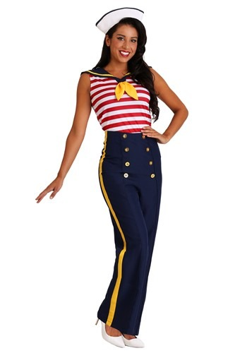 Traje de Marinero de Pin Up Up Sailor perfecto para mujer