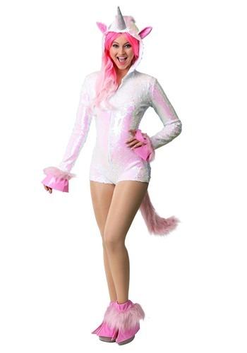 Disfraz de unicornio con lentejuelas para mujer
