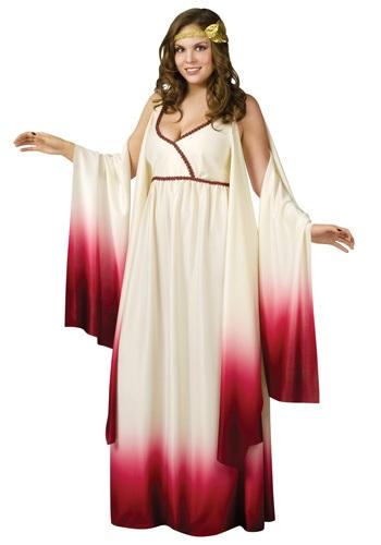 Disfraz de la diosa del amor talla extra