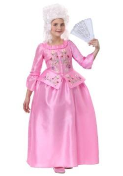 Disfraz de María Antonieta para niñas