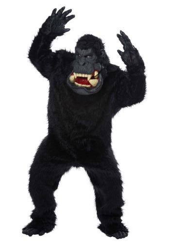 ¡Loco como una banana! Disfraz de gorilla para adulto