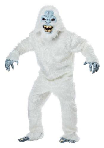 Disfraz de Bestia de las nieves para adulto