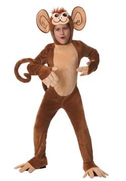 Disfraz infantil de mono peludo