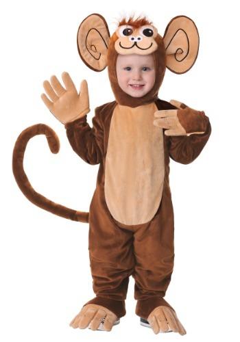 Disfraz de mono peludo para niños pequeños
