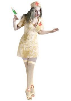 Disfraz de enfermera zombie sexy