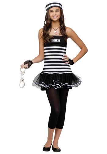 Disfraz de prisionero culpable para adolescente