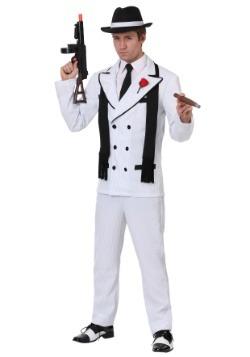 Disfraz de gángster codicioso para hombres
