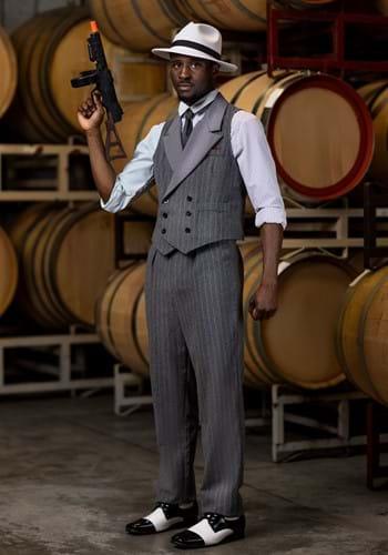 Disfraz de gángster despiadado para hombre