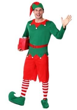 Disfraz de ayudante de Santa para hombre talla extra