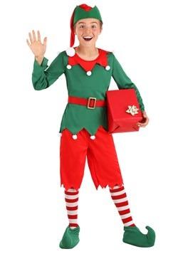 Disfraz de ayudante de Santa para niño