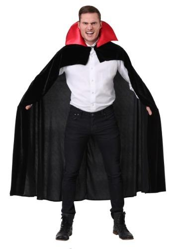 Capa de vampiro roja para adulto