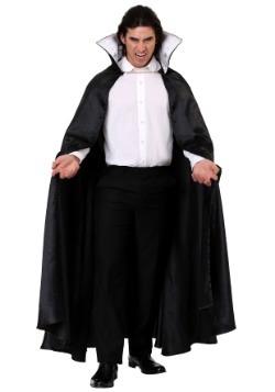 Capa de vampiro negra adulta