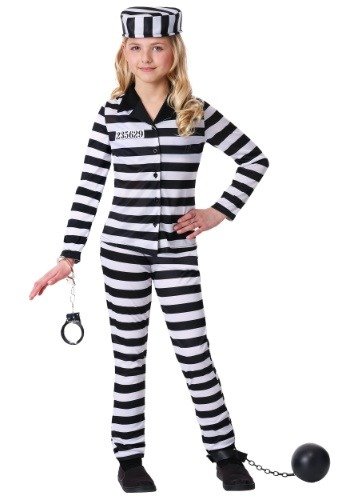 Disfraz de belleza encarcelada para niñas