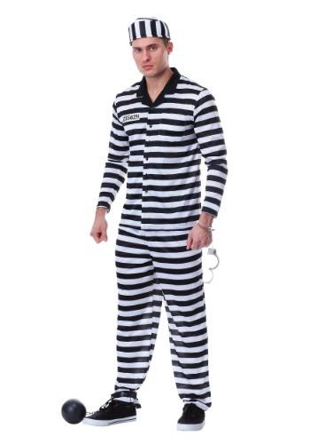 Disfraz de Jailbird Plus Size para hombre