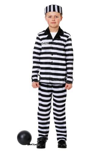 Disfraz de Jailbird para niño