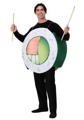 Disfraz de rollo de sushi adulto