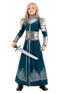 Disfraz de guerrero medieval para niñas