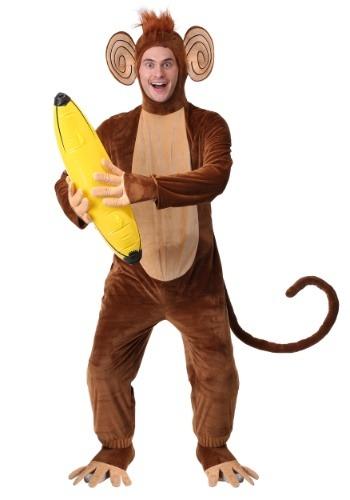 Disfraz de mono funky para adulto talla extra