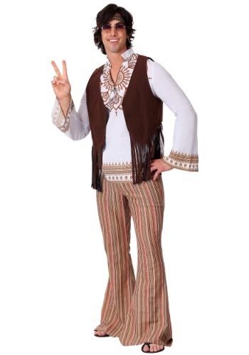 Disfraz hippie de Woodstock para hombre
