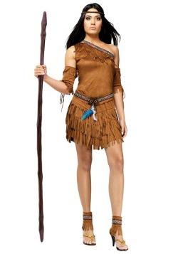 Disfraz de indio sexy Pow Wow