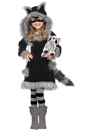 Disfraz de mapache dulce para niños pequeños