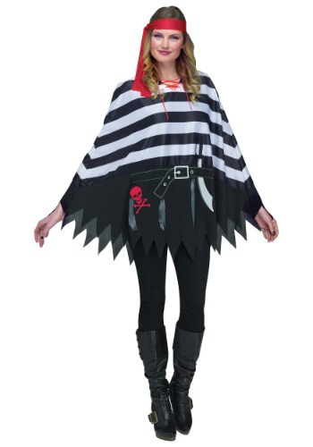Disfraz de poncho pirata
