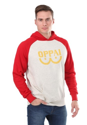 Sudadera con capucha One Punch Man Oppai