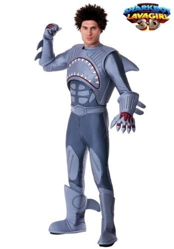 Disfraz de tiburón adulto exclusivo
