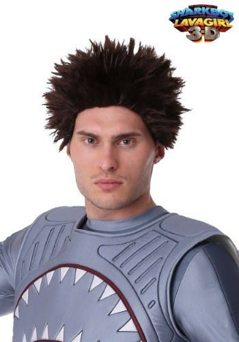 Peluca exclusiva Sharkboy para adultos