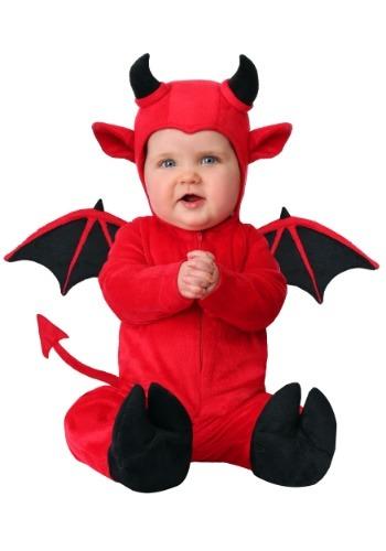 Disfraz de diablo adorable infantil