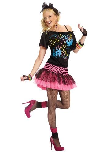 Disfraz de fiesta pop de los años 80 para adulto
