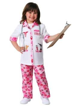 Disfraz de veterinario para niñas