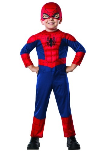 Disfraz de Spider-Man para niños pequeños