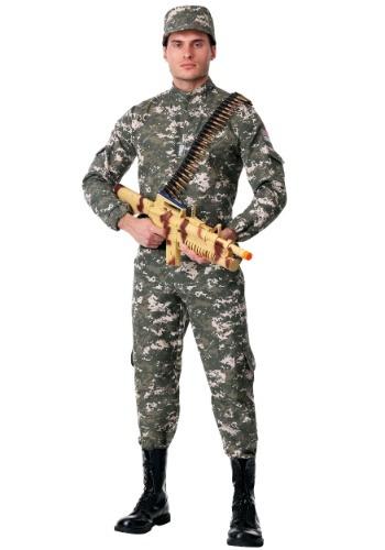 Soldado de combate moderno de los hombres