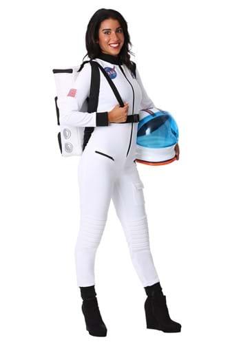 Disfraz de astronauta blanco para mujer