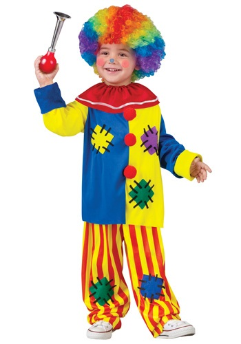 Disfraz de payaso Big Top para niños pequeños
