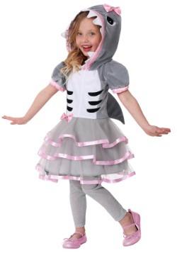 Disfraz de tiburoncita para niños pequeños