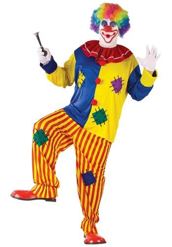 Disfraz de payaso de Big Top Circus