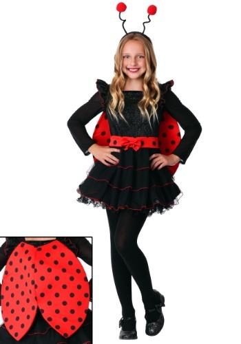 Disfraz de mariquita dulce para niña